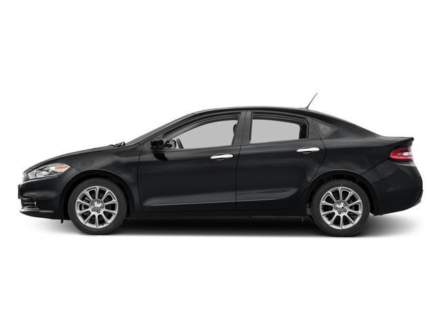Granite Crystal Metallic Clearcoat 2016 Dodge Dart Pictures Dart Sedan 4D Limited I4 photos side view