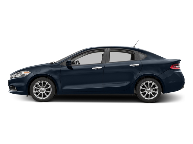 True Blue Pearlcoat 2016 Dodge Dart Pictures Dart Sedan 4D Limited I4 photos side view