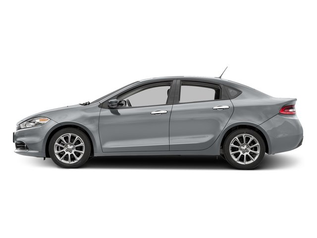 Billet Silver Metallic Clearcoat 2016 Dodge Dart Pictures Dart Sedan 4D Limited I4 photos side view