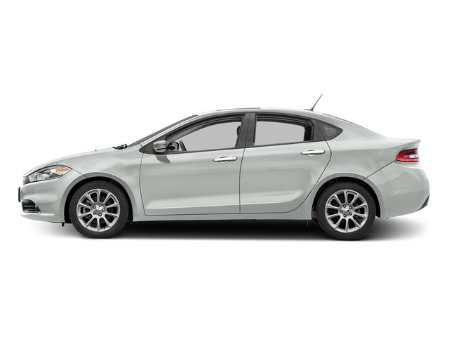 Bright White Clearcoat 2016 Dodge Dart Pictures Dart Sedan 4D Limited I4 photos side view