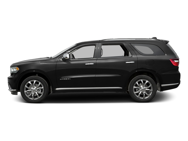Brilliant Black Crystal Pearlcoat 2016 Dodge Durango Pictures Durango Utility 4D Citadel AWD V6 photos side view