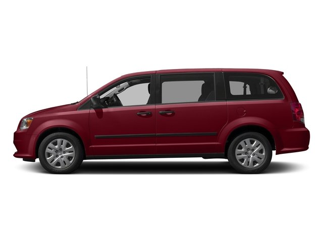 Deep Cherry Red Crystal Pearlcoat 2016 Dodge Grand Caravan Pictures Grand Caravan Grand Caravan SE V6 photos side view