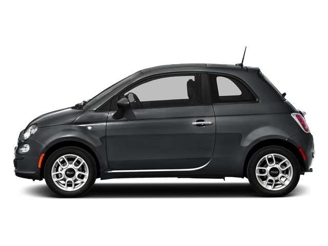 Granito Lucente (Granite Crystal) 2016 FIAT 500 Pictures 500 Hatchback 3D Lounge I4 photos side view