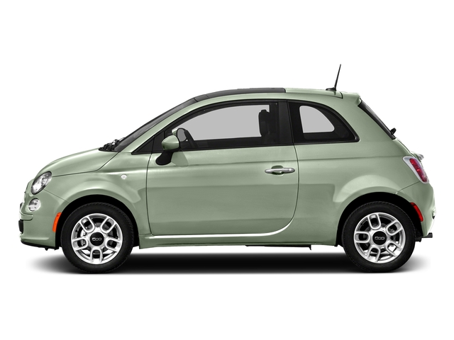 Latte Menta 2016 FIAT 500 Pictures 500 Hatchback 3D Lounge I4 photos side view
