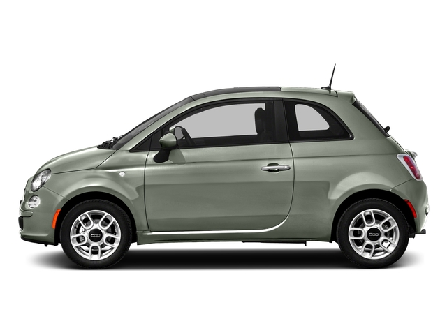 Verde Chiaro (Light Green) 2016 FIAT 500 Pictures 500 Hatchback 3D Lounge I4 photos side view