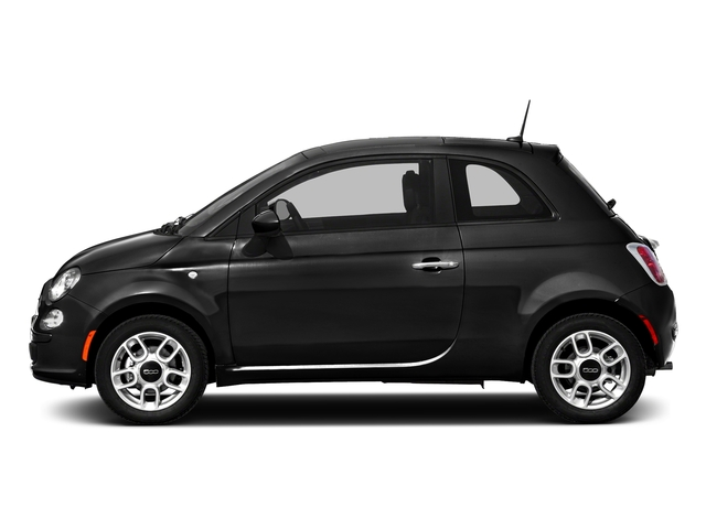 Nero Puro (Straight Black) 2016 FIAT 500 Pictures 500 Hatchback 3D Lounge I4 photos side view
