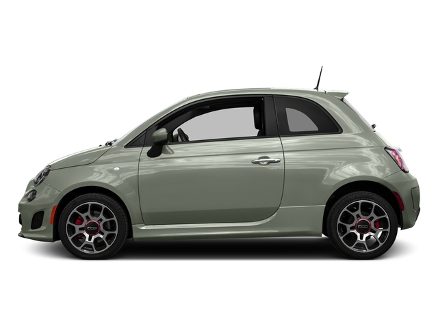 Verde Chiaro (Light Green) 2016 FIAT 500 Pictures 500 Hatchback 3D I4 Turbo photos side view