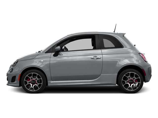 Billet Argento (Silver) 2016 FIAT 500 Pictures 500 Hatchback 3D I4 Turbo photos side view