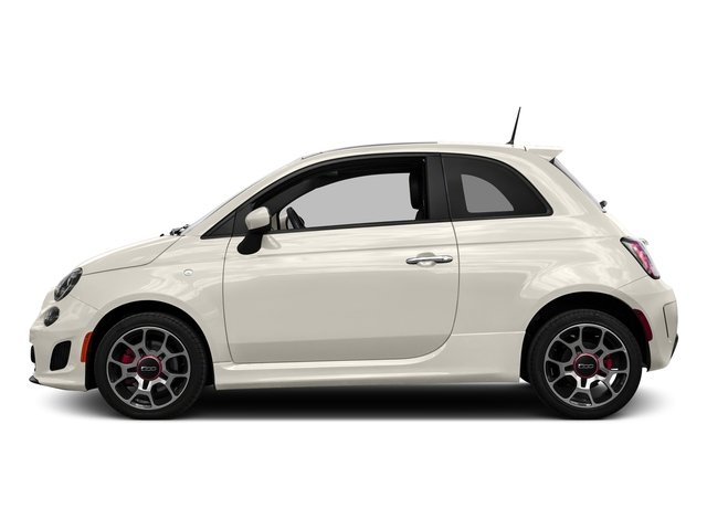 Bianco (White) 2016 FIAT 500 Pictures 500 Hatchback 3D I4 Turbo photos side view