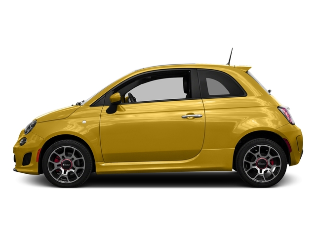 Giallo Moderna Perla (Pearl Yellow TC) 2016 FIAT 500 Pictures 500 Hatchback 3D I4 Turbo photos side view