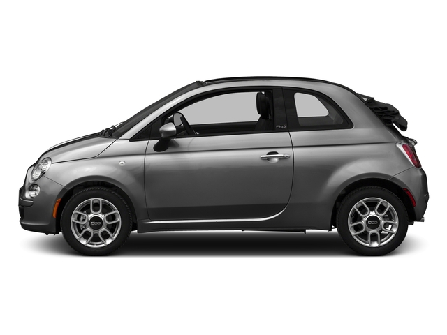 Grigio Cenre 2016 FIAT 500c Pictures 500c Convertible 2D Lounge I4 photos side view
