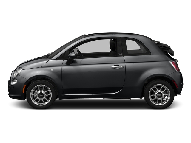 Granito Lucente (Granite Crystal) 2016 FIAT 500c Pictures 500c Convertible 2D Lounge I4 photos side view