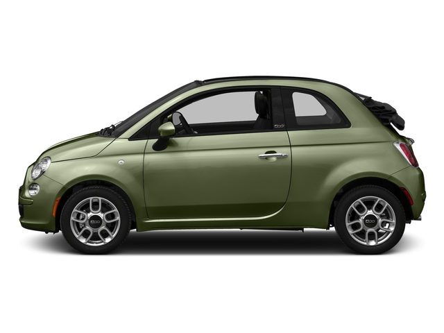 Verde Oliva (Olive Green) 2016 FIAT 500c Pictures 500c Convertible 2D Easy I4 photos side view