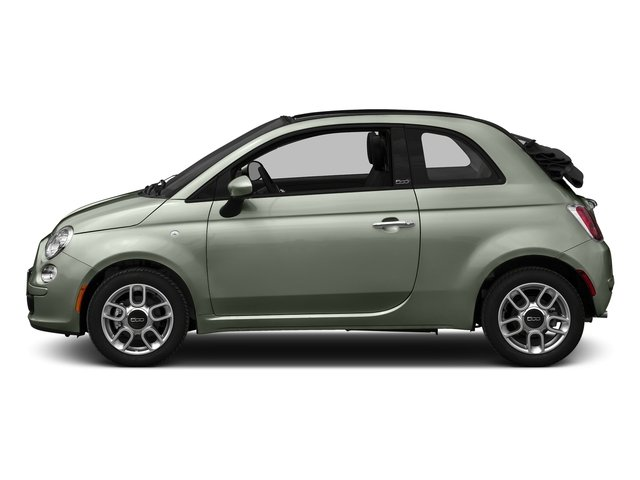 Verde Chiaro (Light Green) 2016 FIAT 500c Pictures 500c Convertible 2D Easy I4 photos side view