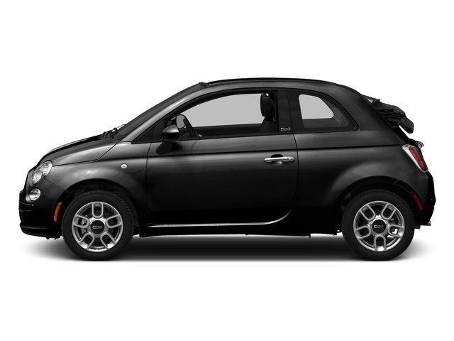 Nero Puro (Straight Black) 2016 FIAT 500c Pictures 500c Convertible 2D Lounge I4 photos side view