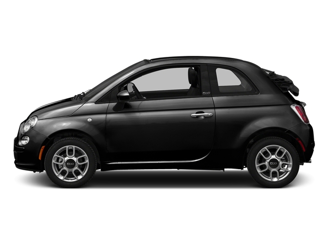 Nero Puro (Straight Black) 2016 FIAT 500c Pictures 500c Convertible 2D Easy I4 photos side view