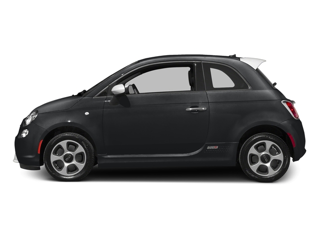 Granito Lucente (Granite Crystal) 2016 FIAT 500e Pictures 500e Hatchback 3D 500e Electric photos side view