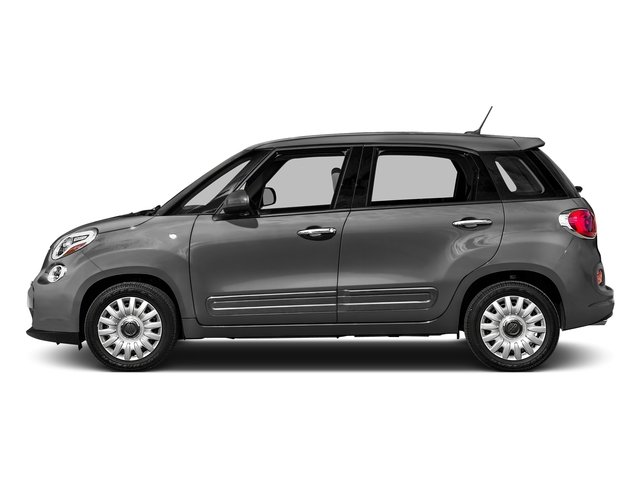 Grigio Scuro (Gray Metallic) 2016 FIAT 500L Pictures 500L Hatchback 5D L Pop I4 Turbo photos side view