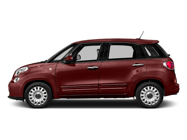 Rosso Perla (Deep Lava Red Pearl) 2016 FIAT 500L Pictures 500L Hatchback 5D L Lounge I4 Turbo photos side view