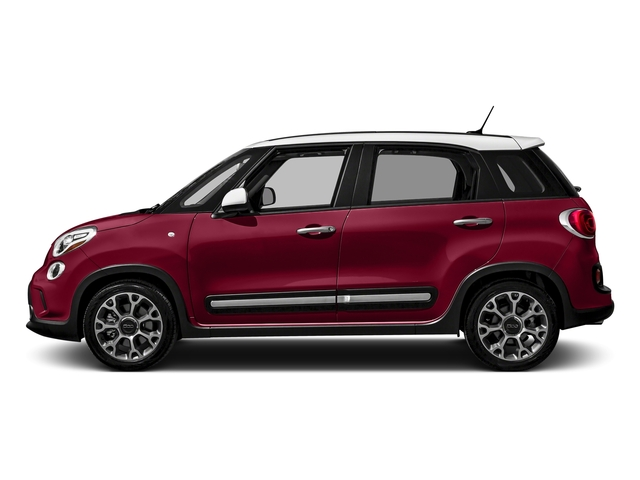 Rosso Perla (Deep Lava Red Pearl) 2016 FIAT 500L Pictures 500L Hatchback 5D L Trekking I4 Turbo photos side view