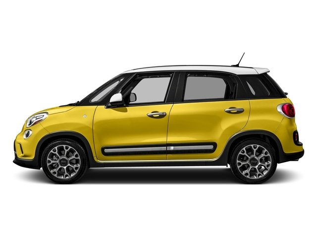 Giallo (Yellow) 2016 FIAT 500L Pictures 500L Hatchback 5D L Trekking I4 Turbo photos side view