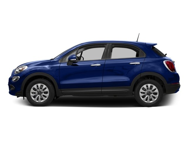Blu Venezia (Blue Metallic) 2016 FIAT 500X Pictures 500X Utility 4D Trekking Plus 2WD I4 photos side view