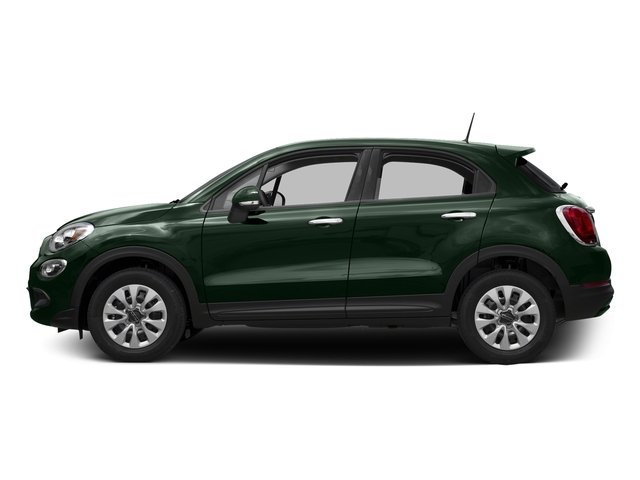 Verde Toscana (Green Metallic) 2016 FIAT 500X Pictures 500X Utility 4D Easy 2WD I4 photos side view