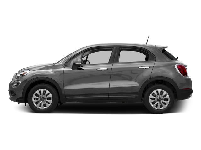 Grigio Arte (Gray Clear Coat) 2016 FIAT 500X Pictures 500X Utility 4D Trekking Plus 2WD I4 photos side view