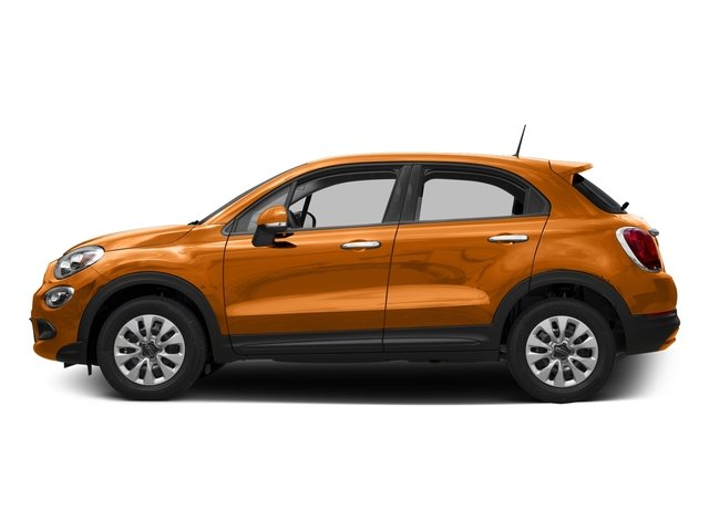 Arancio (Orange) 2016 FIAT 500X Pictures 500X Utility 4D Trekking Plus 2WD I4 photos side view