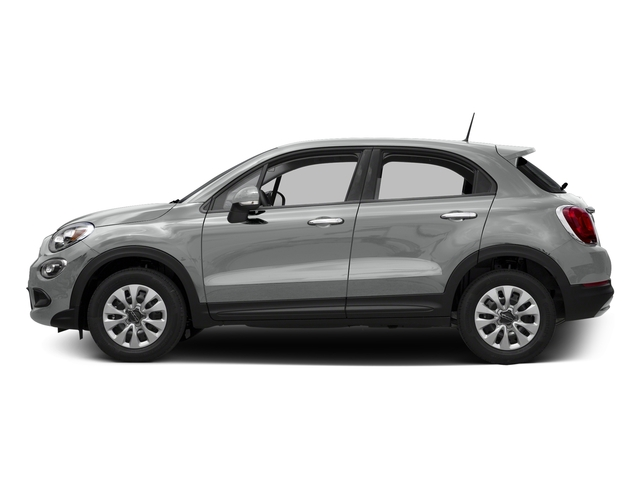 Grigio Argento (Gray Metallic) 2016 FIAT 500X Pictures 500X Utility 4D Easy 2WD I4 photos side view