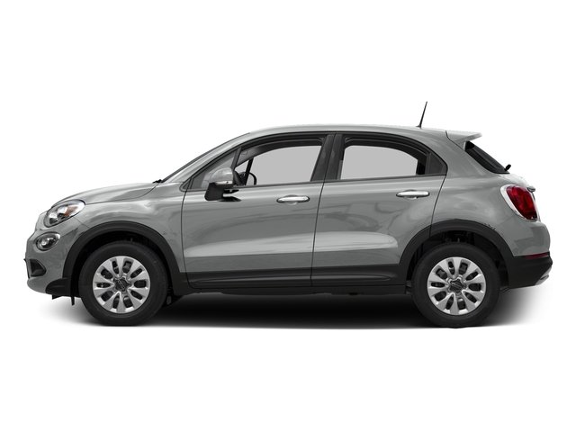 Grigio Argento (Gray Metallic) 2016 FIAT 500X Pictures 500X Utility 4D Trekking Plus 2WD I4 photos side view