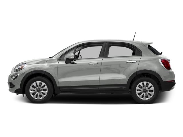 Bianco Gelato (White Clear Coat) 2016 FIAT 500X Pictures 500X Utility 4D Easy 2WD I4 photos side view