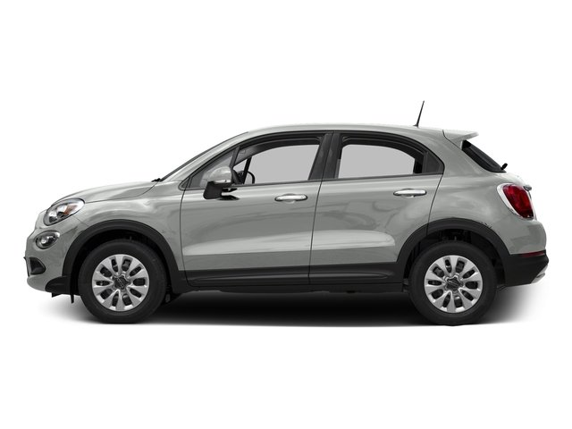 Bianco Gelato (White Clear Coat) 2016 FIAT 500X Pictures 500X Utility 4D Trekking Plus 2WD I4 photos side view