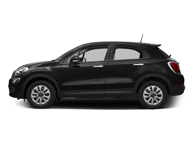 Nero Cinema (Black Clear Coat) 2016 FIAT 500X Pictures 500X Utility 4D Trekking Plus 2WD I4 photos side view