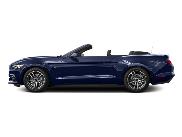 Deep Impact Blue Metallic 2016 Ford Mustang Pictures Mustang Convertible 2D GT Premium V8 photos side view