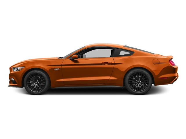 Competition Orange 2016 Ford Mustang Pictures Mustang Coupe 2D GT V8 photos side view