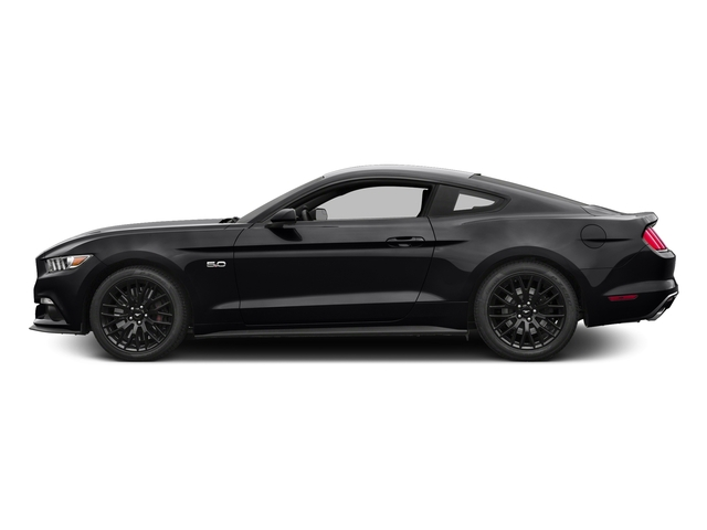 Shadow Black 2016 Ford Mustang Pictures Mustang Coupe 2D GT V8 photos side view