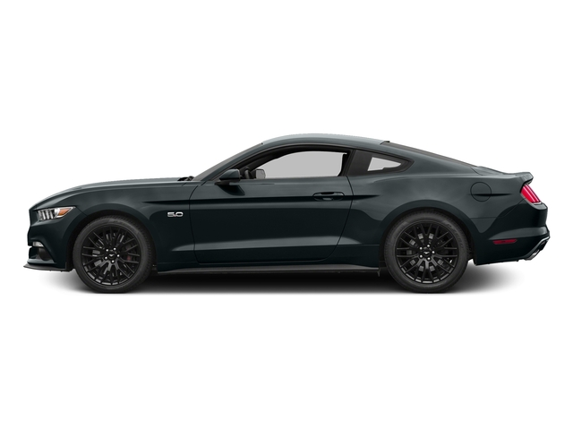 Guard Metallic 2016 Ford Mustang Pictures Mustang Coupe 2D GT V8 photos side view