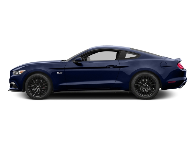 Deep Impact Blue Metallic 2016 Ford Mustang Pictures Mustang Coupe 2D GT V8 photos side view