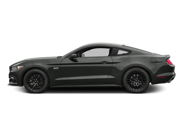 Magnetic Metallic 2016 Ford Mustang Pictures Mustang Coupe 2D GT V8 photos side view