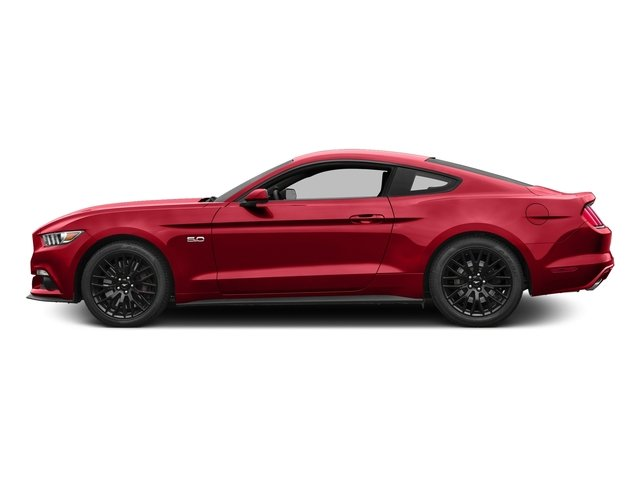 Race Red 2016 Ford Mustang Pictures Mustang Coupe 2D GT V8 photos side view