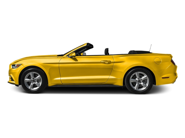 Triple Yellow Tri-Coat 2016 Ford Mustang Pictures Mustang Convertible 2D V6 photos side view