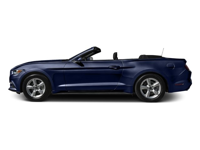 Deep Impact Blue Metallic 2016 Ford Mustang Pictures Mustang Convertible 2D V6 photos side view