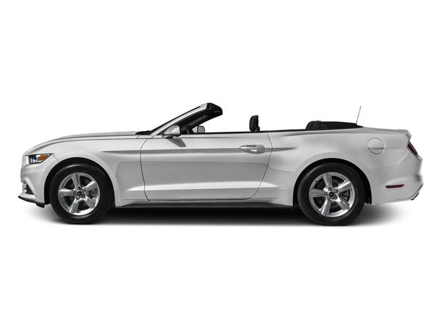 Oxford White 2016 Ford Mustang Pictures Mustang Convertible 2D V6 photos side view