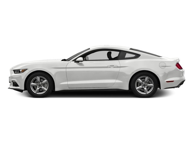 Oxford White 2016 Ford Mustang Pictures Mustang Coupe 2D EcoBoost Premium I4 Turbo photos side view