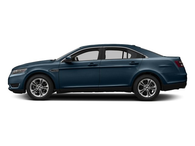 Blue Jeans 2016 Ford Taurus Pictures Taurus Sedan 4D SEL EcoBoost I4 Turbo photos side view