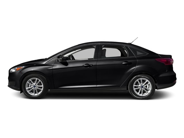 Shadow Black 2016 Ford Focus Pictures Focus Sedan 4D S I4 photos side view