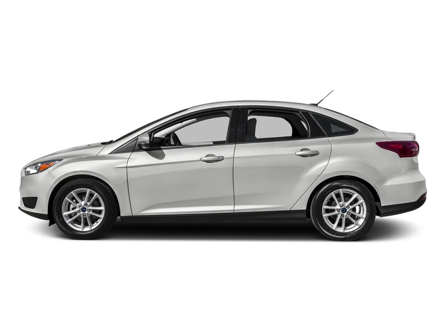 Oxford White 2016 Ford Focus Pictures Focus Sedan 4D S I4 photos side view