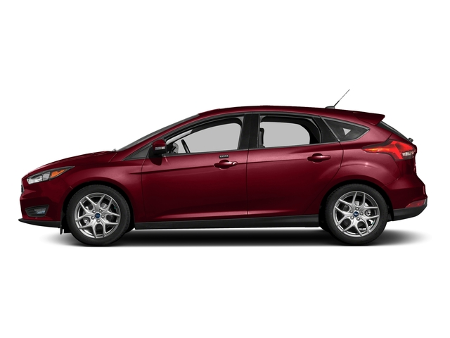 Ruby Red Metallic Tinted Clearcoat 2016 Ford Focus Pictures Focus Hatchback 5D SE EcoBoost I3 Turbo photos side view