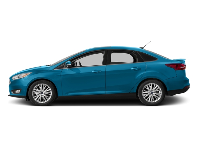Blue Candy Metallic Tinted Clearcoat 2016 Ford Focus Pictures Focus Sedan 4D Titanium I4 photos side view